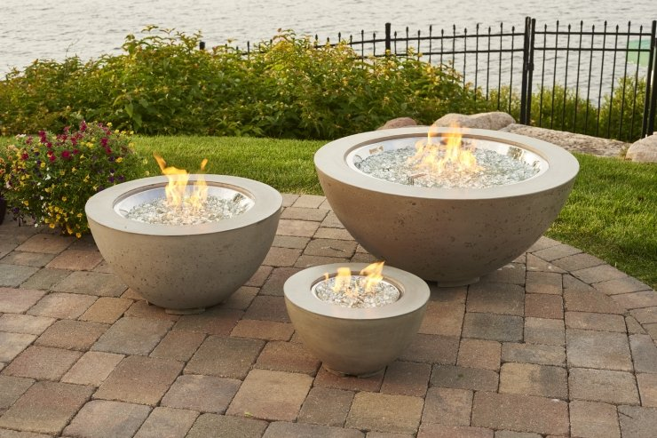 Cove Outdoor Fire Table