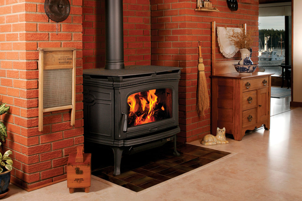 Pacific Energy Alderlea T6 Wood Fireplace
