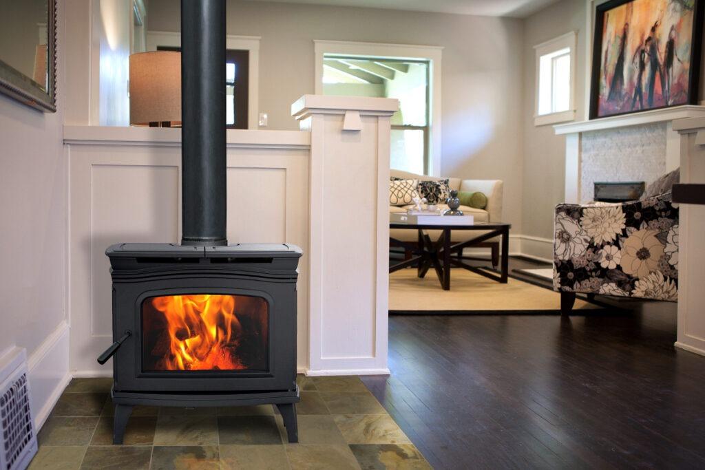 Pacific Energy Alderlea 1.2 Wood Fireplace