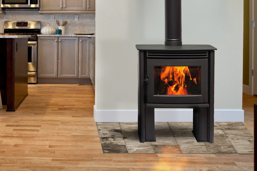Pacific Energy Neo 1.2 Wood Fireplace