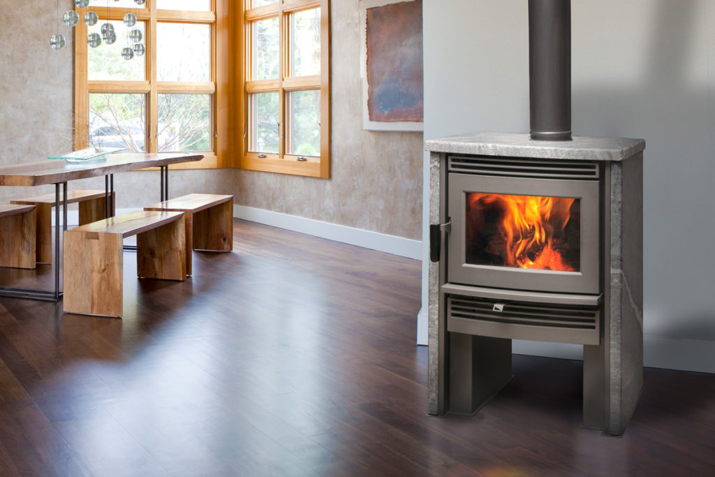 Pacific Energy Neostone 1.6 Wood Fireplaces