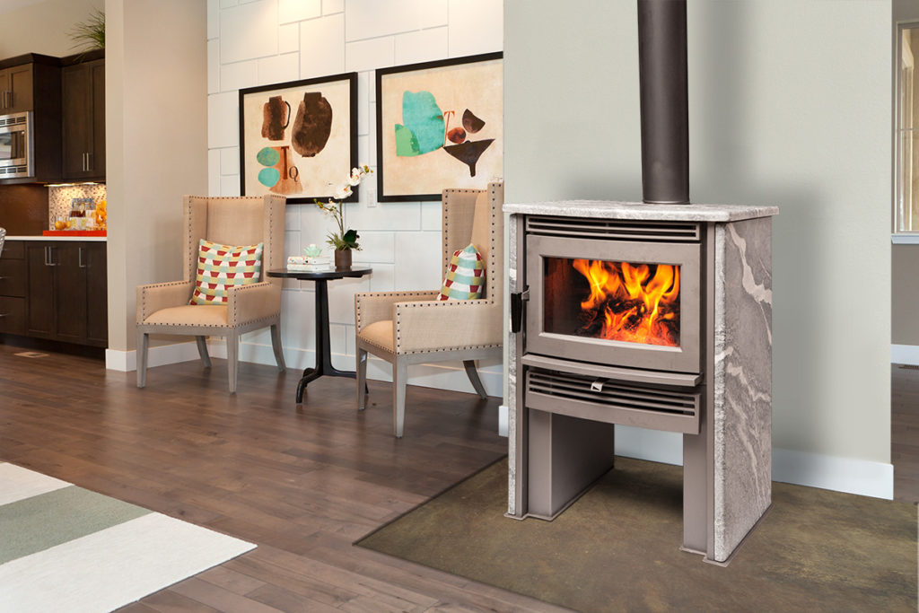Pacific Energy Neostone 2.5 Wood Fireplace