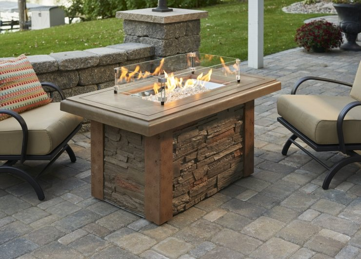 Sierra Outdoor Fire Table