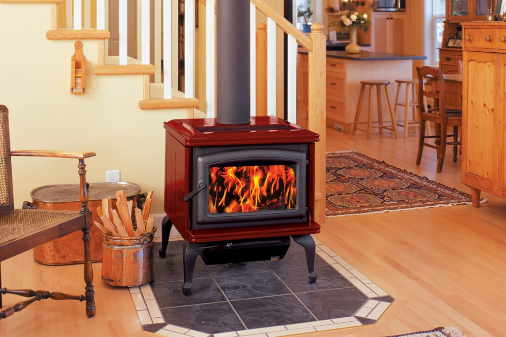 Pacific Energy Summit Classic Wood Fireplace