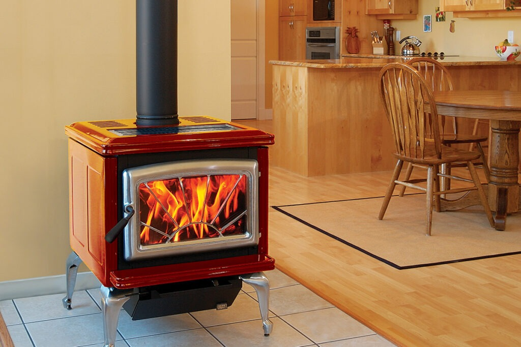 Pacific Energy Super Classic Wood Fireplace