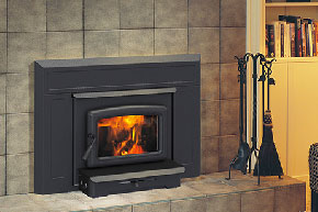 Pacific Energy Vista Wood Fireplace