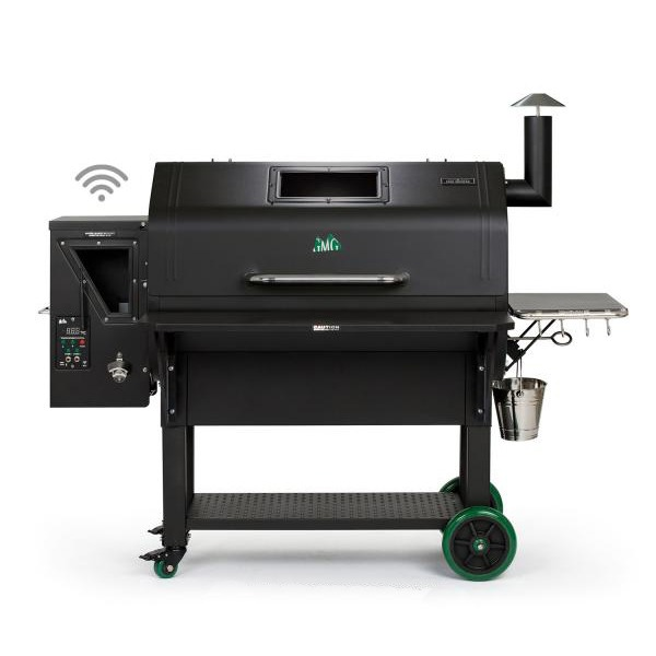 Green Mountain Grills Jim Bowie Prime Black Pellet Grill with WiFi