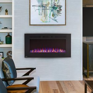 electric fireplace lifestyle