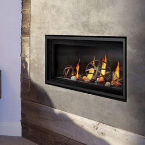 Napoleon indoor fireplace