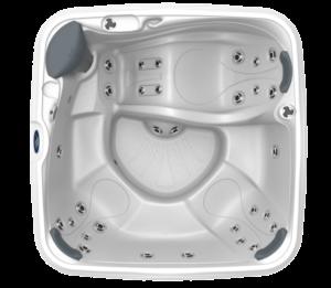 Sundance Spas Splash Series Square Lounge Hot Tub