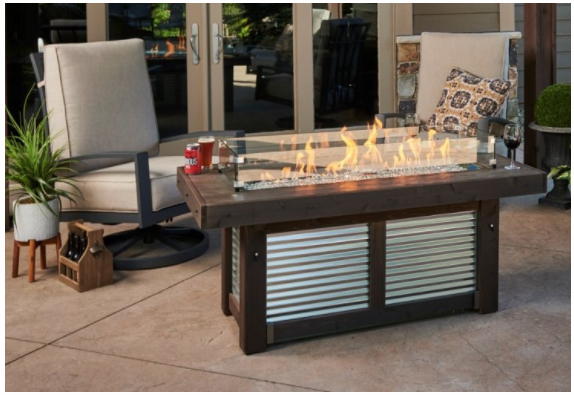 Denali Brew Fire Pit Table
